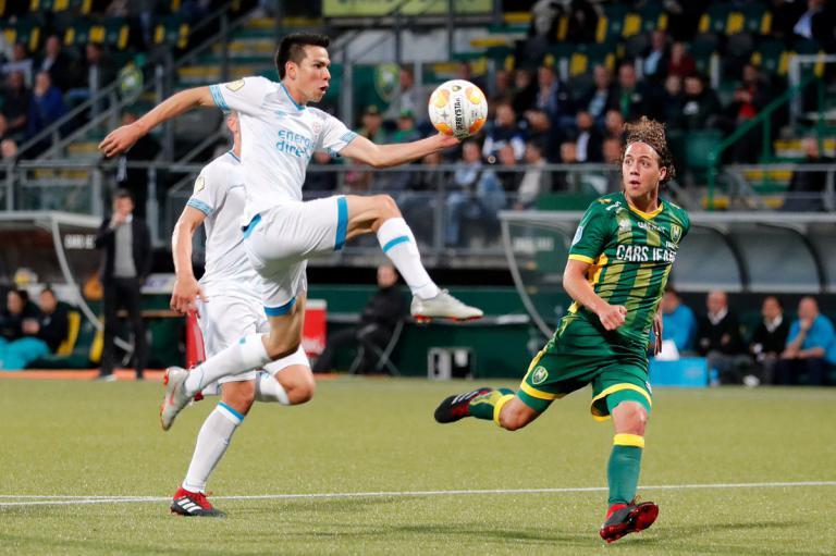 NIEUWS: ADO verliest van PSV: 0-7.