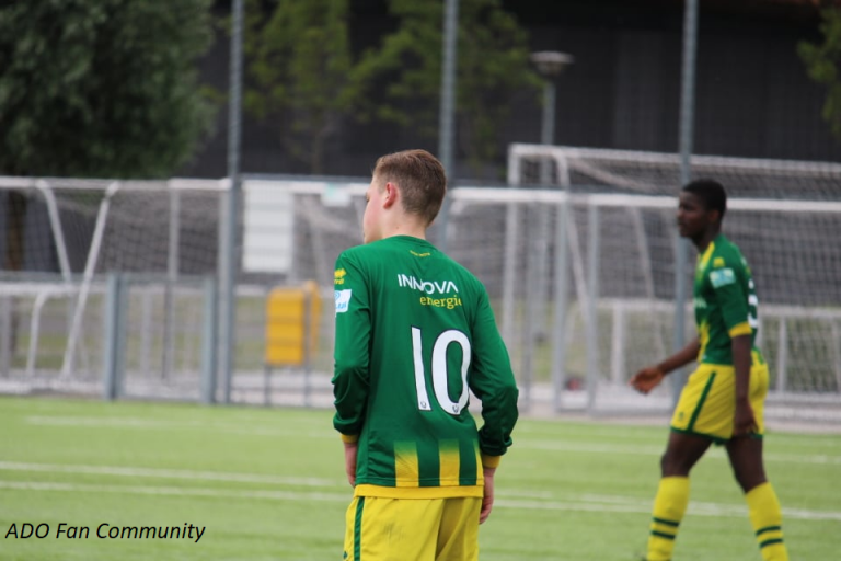 Foto's ADO Den Haag - Sparta (Onder 16)